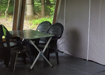 luxe lodge tent glamping boscamping appelscha 2